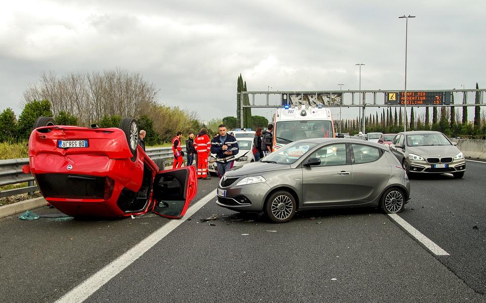 Autoschade direct na afsluiten